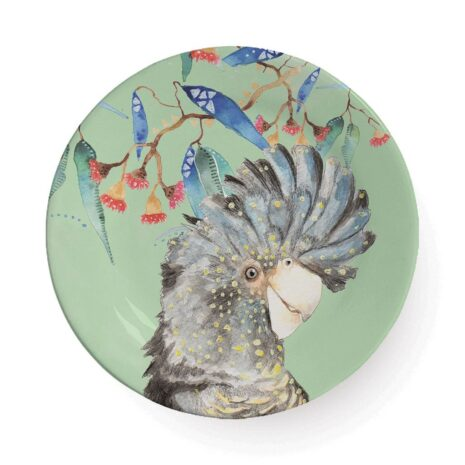 Black Cockatoo Plate