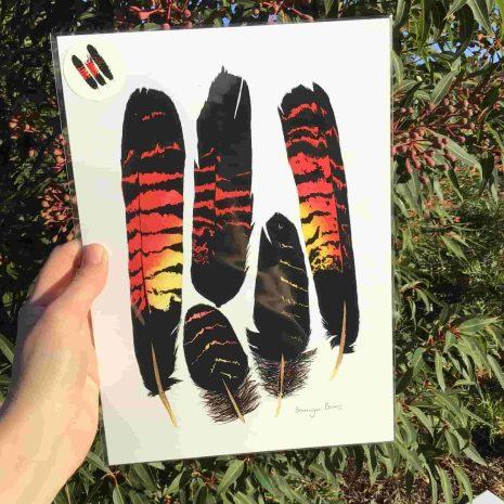 BB Feather print III-min